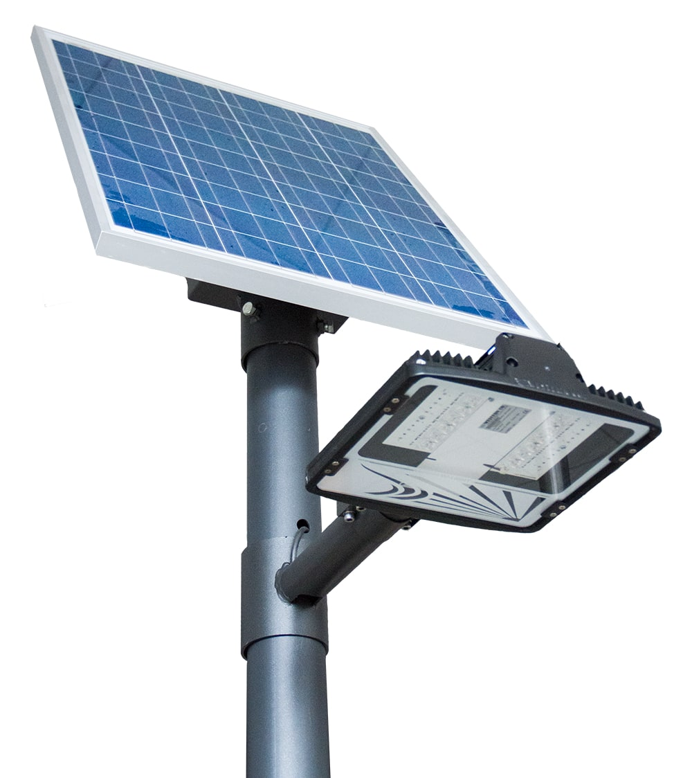 Dragon Solar Street Light Battery Powered Illumination